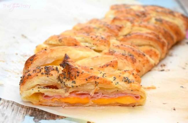Ham & Cheese Breakfast Braid