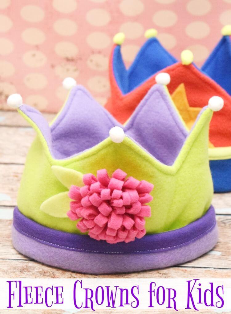 Fleece Crowns
