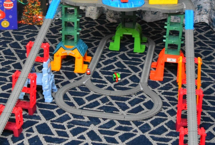 Thomas & Friends Super Stations is able to be configured so many ways.