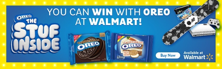 Win at Walmart with OREO