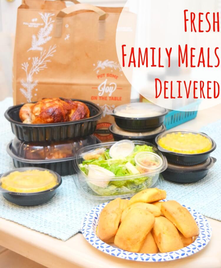 Fresh Market Family Meal