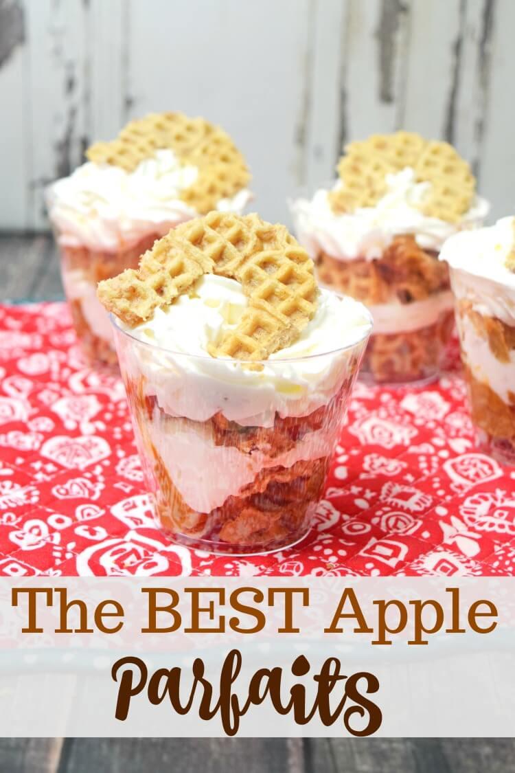The BEST Apple Parfaits
