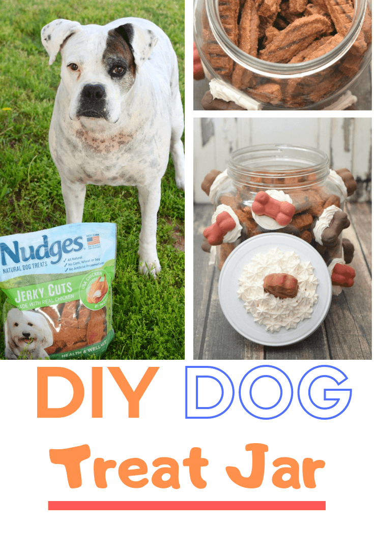Make a DIY Dog Treat Jar in the fun decoden style with clay made dog treat ornaments.