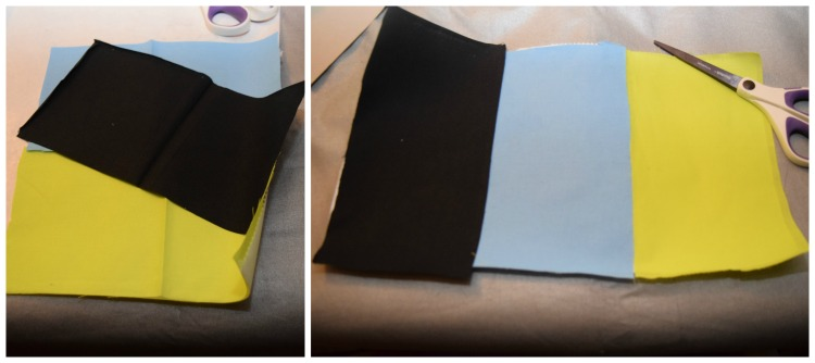 iron the fabric to the fusible webbing.