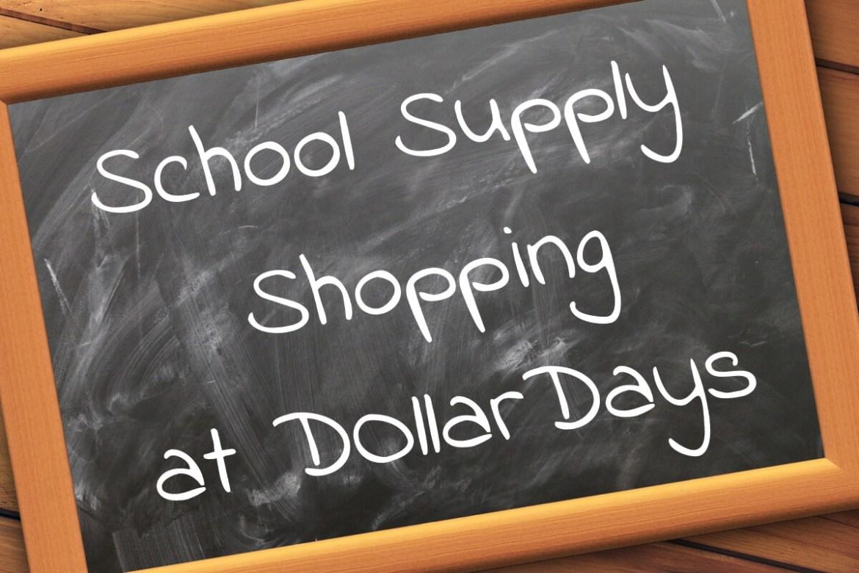Buy bulk school supplies with DollarDays!