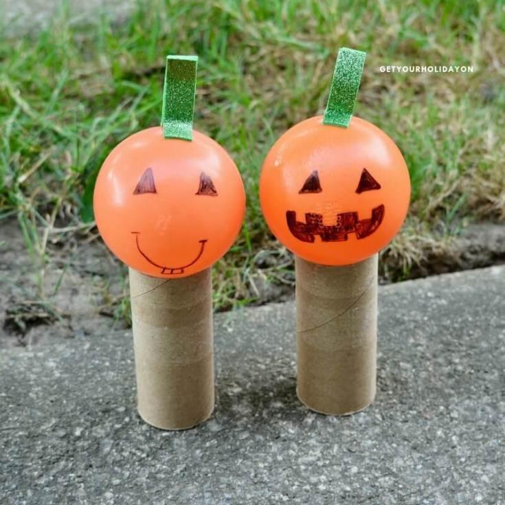 Pumpkin Drop Game for Halloween