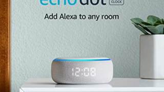 All-new Echo Dot Smart speaker with clock and Alexa