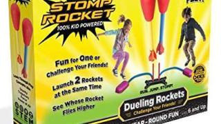 Stomp Rocket Dueling Rockets, 4 Rockets and Rocket Launcher -