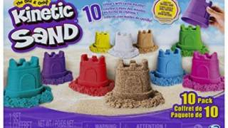 Kinetic Sand, Castle Containers 10-Color Pack