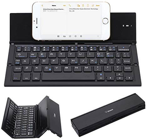 Folding Keyboard for iPhone, Android, Tablet
