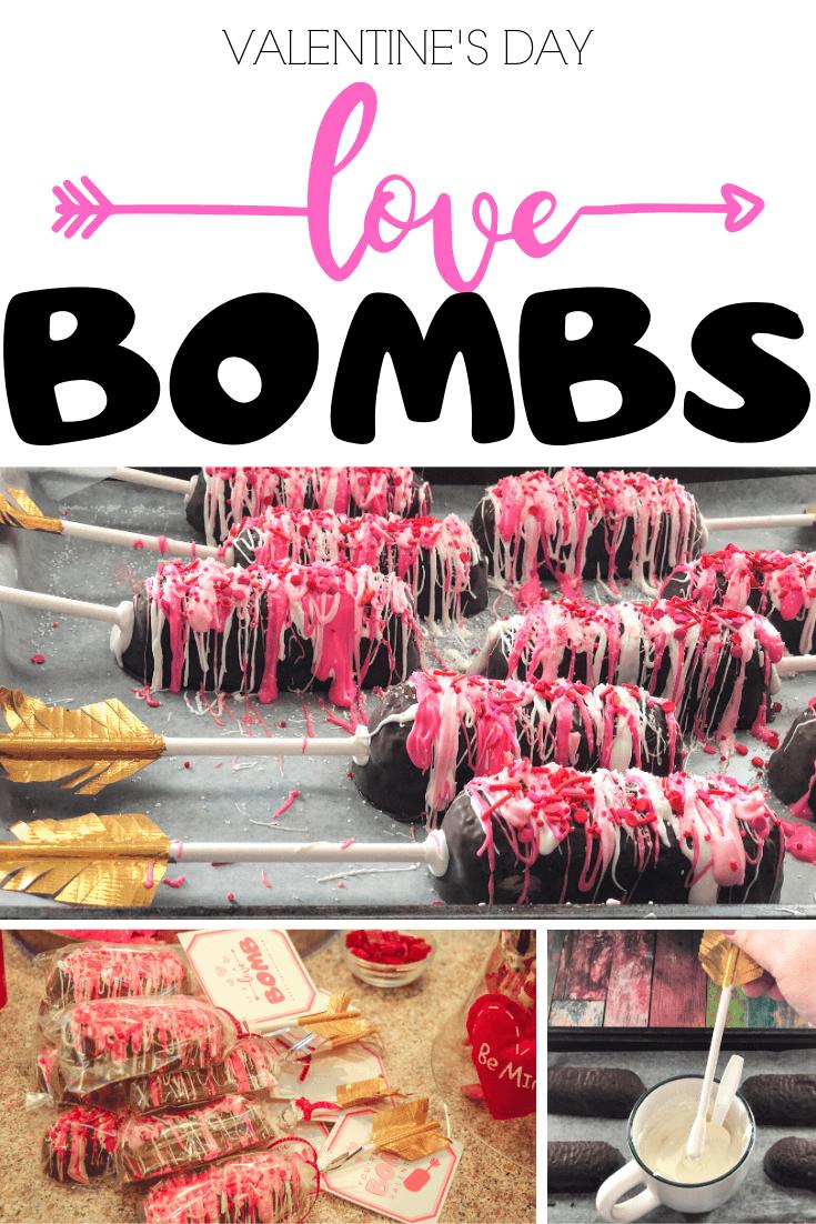 Let's make Valentine's Day Love Bomb Treats
