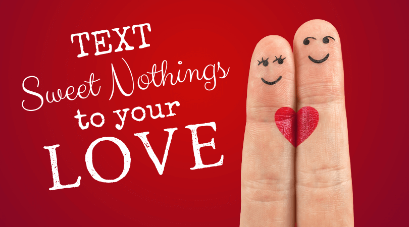 Two fingers in love - More love notes to text