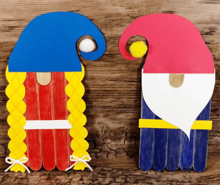 Popsicle Stick Gnomes