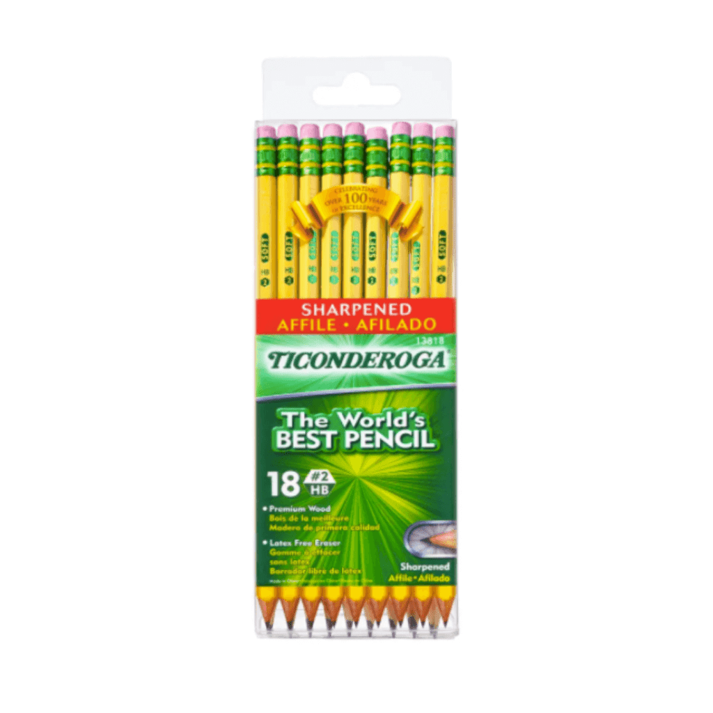 Presharpened Ticonderoga pencils for back to school for Office Depot