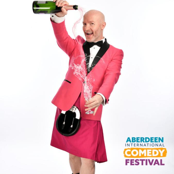 Aberdeen International Comedy Festival 2019: Craig Hill: Bottoms Up!