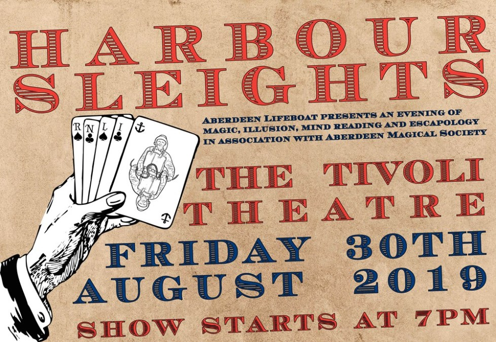 Harbour Sleights: Aberdeen Lifeboat Presents an Evening of Magic