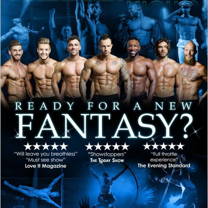 Forbidden Nights – Male Variety Act