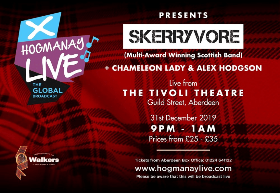 Hogmanay Live featuring Skerryvore