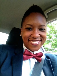 Bow tie for musical theater outing