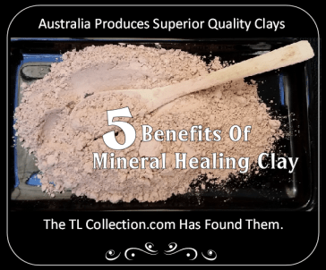 mineral healing clay