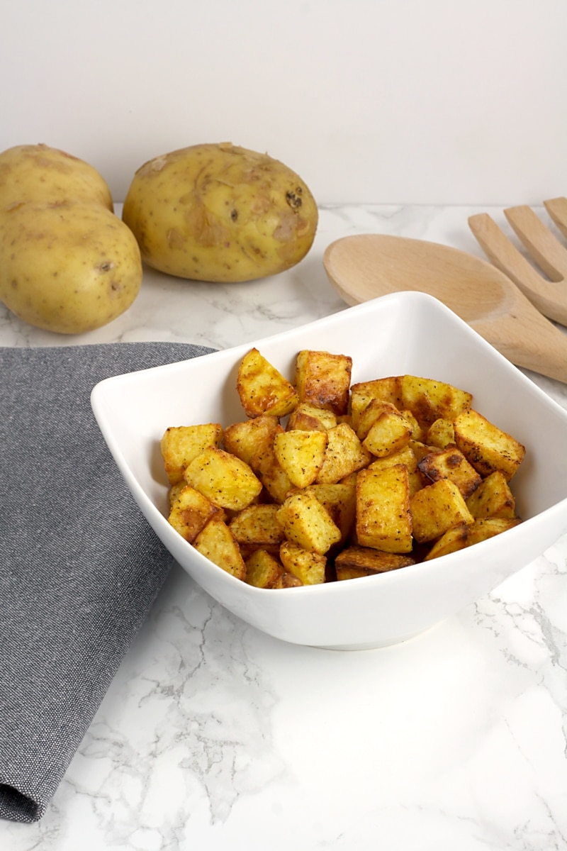 Easy Oven Roasted Potatoes by The Toasty Kitchen