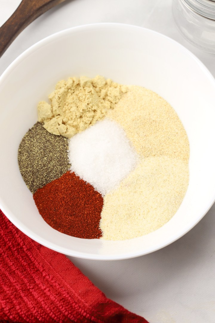 A bowl of spices.