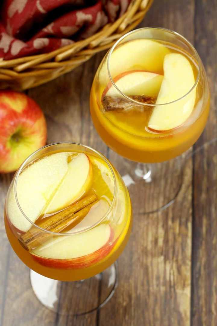 Fall Harvest Sangria by The Toasty Kitchen