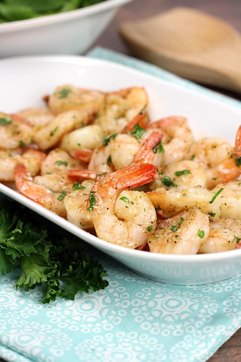 Sautéed Garlic Butter Shrimp