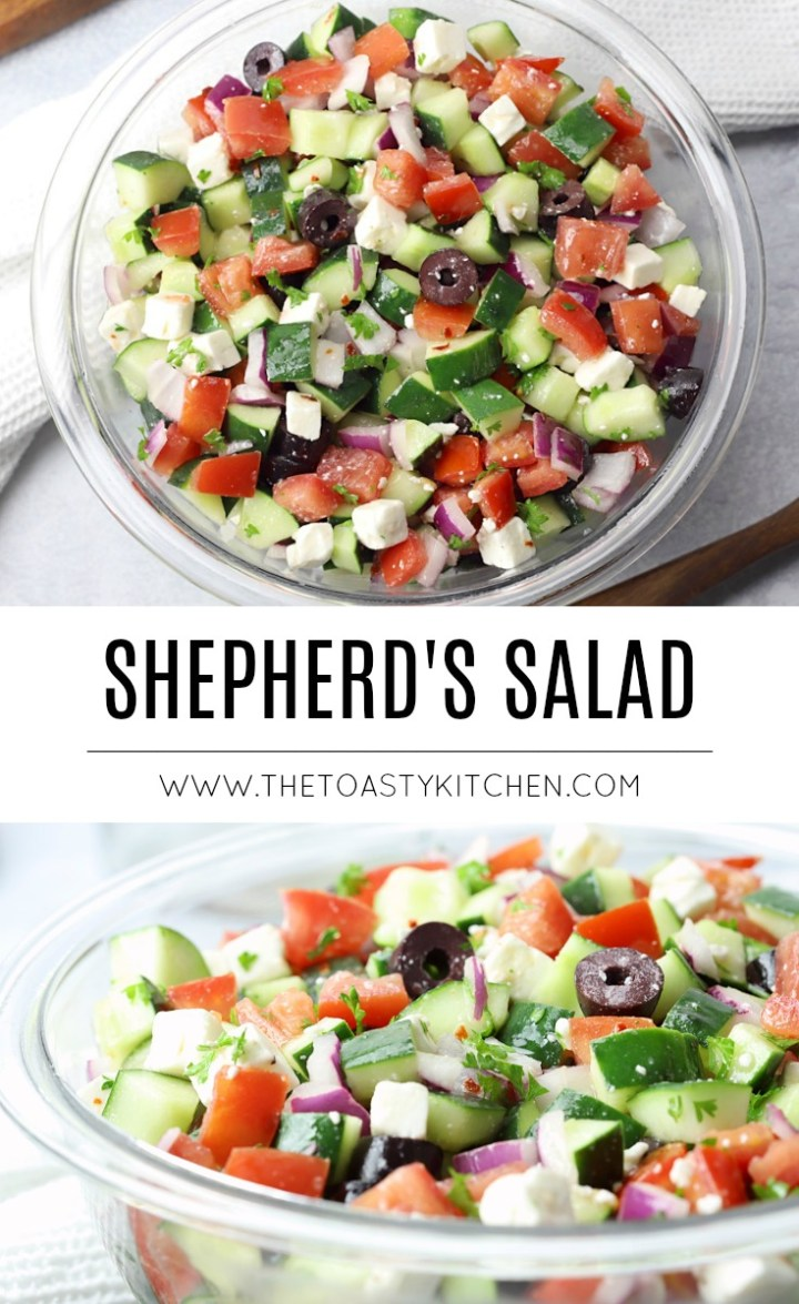 Shepherd's Salad by The Toasty Kitchen