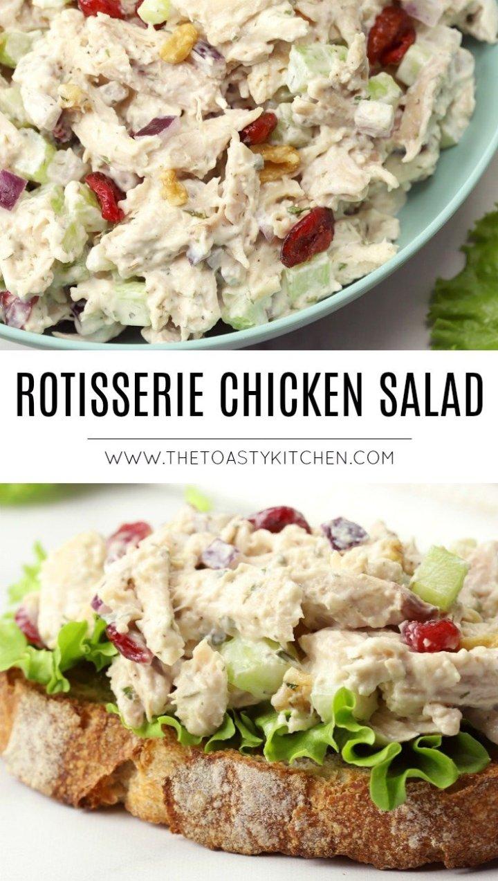 Rotisserie Chicken Salad by The Toasty Kitchen