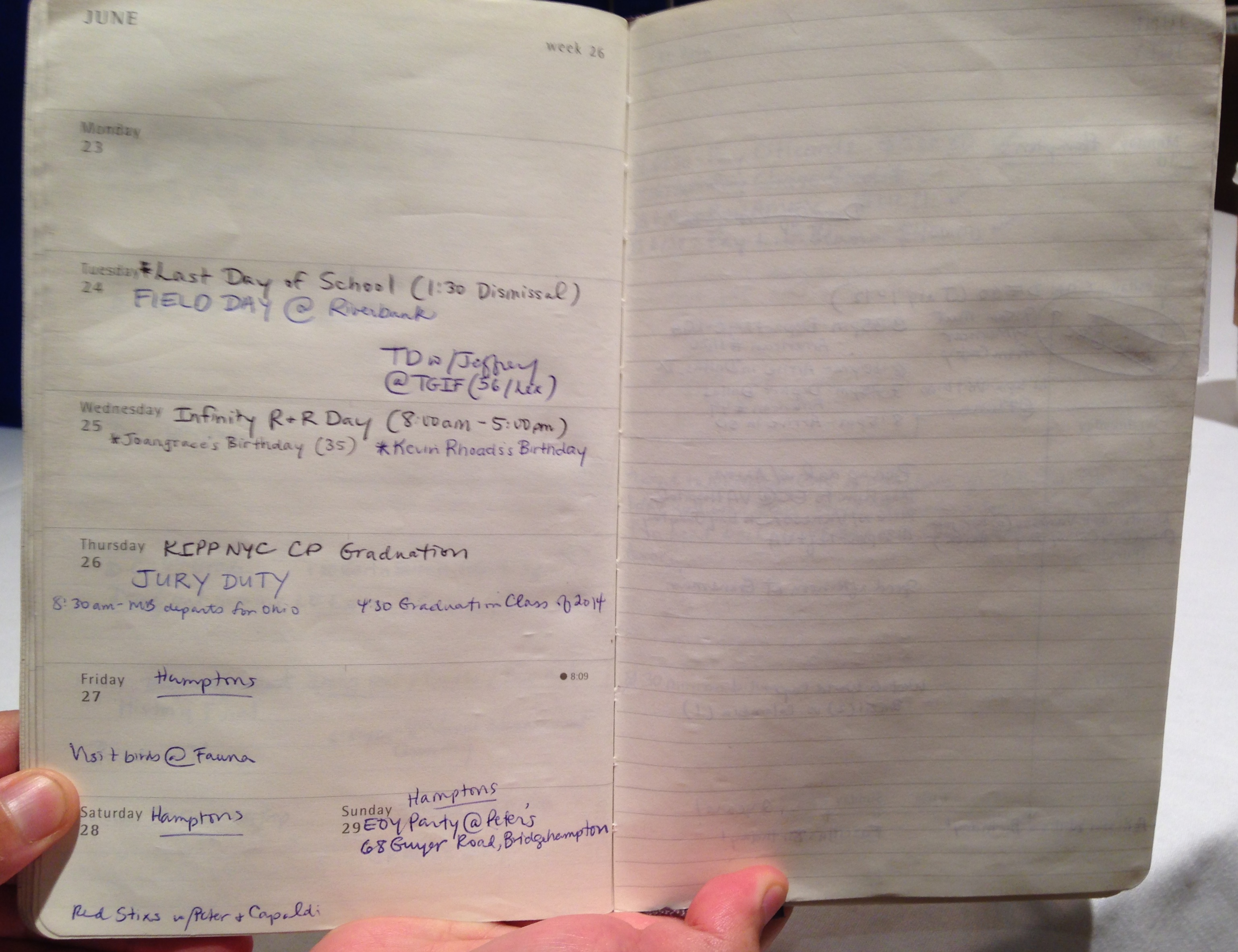 Product Review The Moleskine Planner
