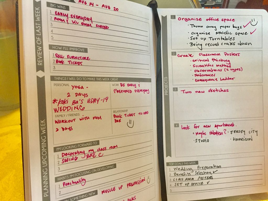 The Panda Planner From What Er To When Er