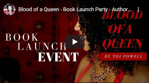 Blood of a queen – book launch