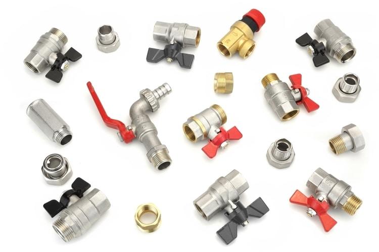 9 different types of shut off valves