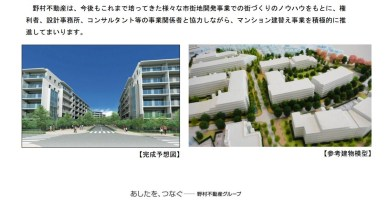 New Asagaya Housing Project artist's rendering
