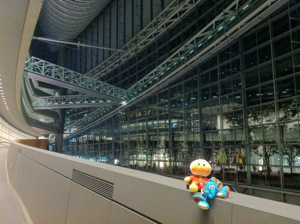 This is the most fun I've ever had in the Tokyo International Forum