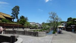 4. Kurashiki bikan district canal sunny