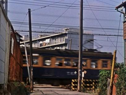 An Autumn Afternoon Ozu train suburb apartment complex