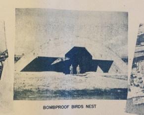 Occupation of Japan Mitsubishi Nagasaki Bombproof Birds Nest