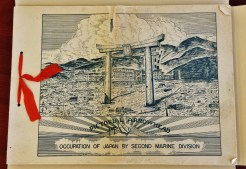 Pictorial Arrowhead Occupation of Japan by Second Marine Division