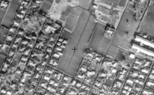 Kichijoji Kitamachi Company Housing aerial map 1945-1950
