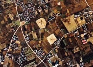 Kiyose jutaku housing aerial 1974-1978