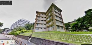 UR Akabanedai danchi building 49 star house
