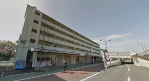 Toei Minami Tanaka Apartment woman on bike