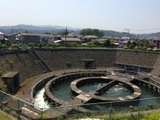 Shimokuzawa diversion pond Ento bunsui Japan