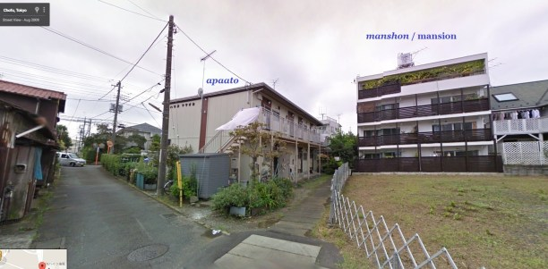 apaato apartment and mansion chofu Tokyo