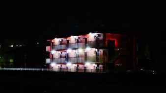 Kamata Ota-ku Nomigawa apaato apartment at night