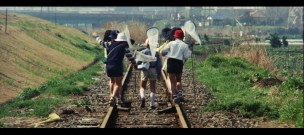 The Petrified Forest 1973 kids butterfly nets train tracks