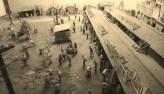 Ikebukuro post-WW2 black market black and white