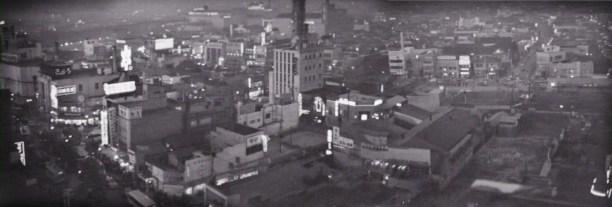 Danger Stalks Near Shinjuku 1957 panorama